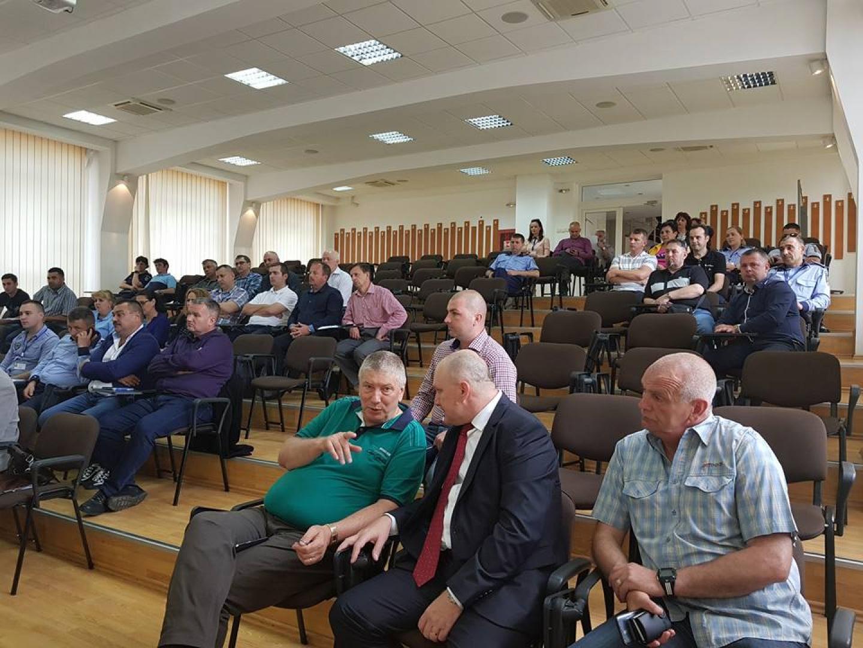 26.04.2018 - Adunare generală pentru alegeri la Biroul Teritorial SNPPC din IPJ Hunedoara