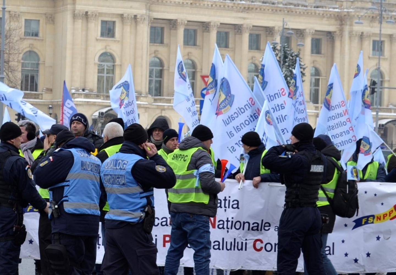 17.01.2019 - Proteste comune pentru o salarizare echitabilă  și modificarea regimului pensiilor militare de stat