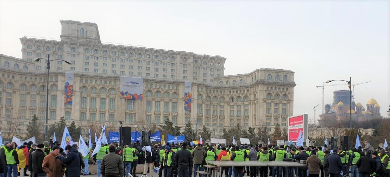 Vineri, 8 februarie - a doua zi de proteste, pentru o salarizare decentă, adecvată riscurilor profesionale, și un regim juridic echitabil și predictibil al pensiilor militare de stat!