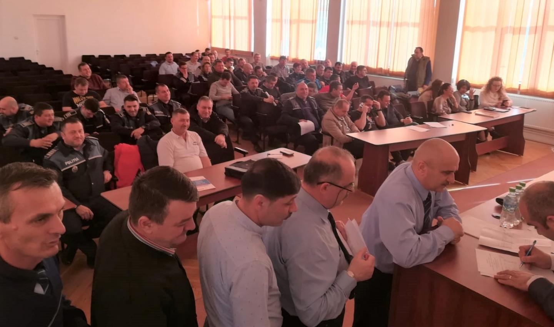 07.03.2019 - Alegeri pentru conducerea Biroului Teritorial SNPPC din IPJ Buzău