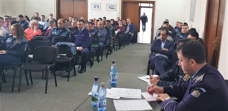 12.03.2019 - Alegeri pentru conducerea Biroului Teritorial SNPPC din IPJ Prahova
