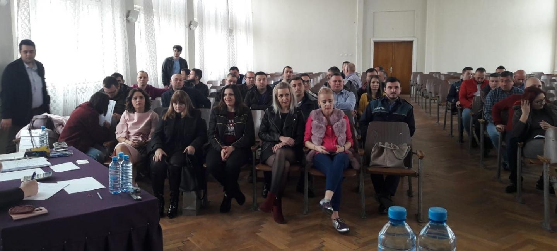 15.03.2019 - Alegeri pentru conducerea Biroului Teritorial SNPPC din IPJ Arad