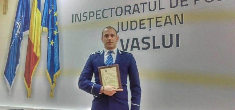 10.04.2019 - PRECIZĂRI  privind cazul agentului de poliție din Vaslui, aflat în timpul său liber, care a reținut un făptuitor și a fost condamnat să-i achite daune morale