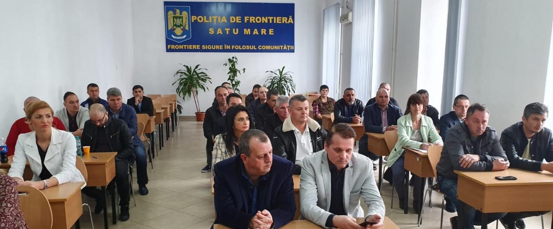 12.04.2019 - Alegeri la Biroul Teritorial SNPPC - Poliția de Frontieră Satu Mare  și discuții cu membrii de sindicat din IPJ și SPF Negrești-Oaș