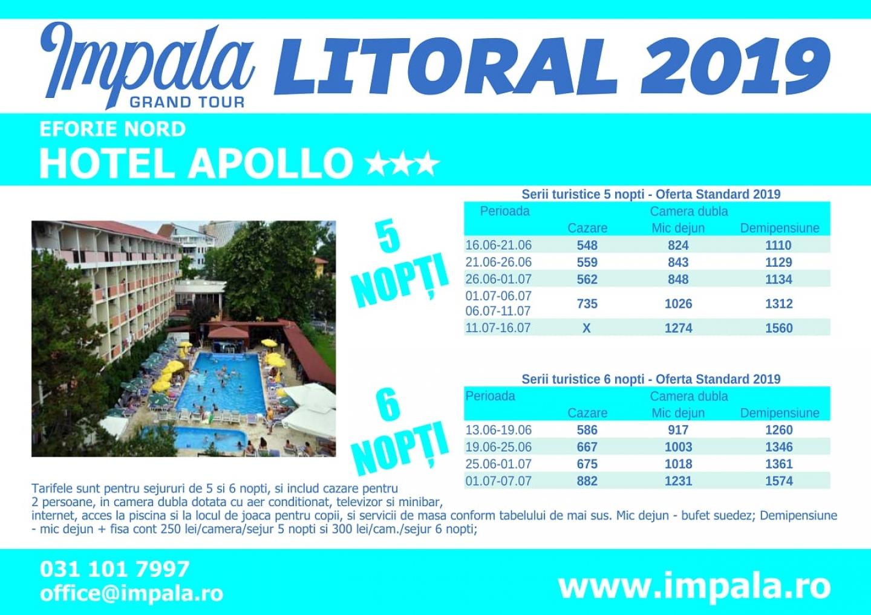 """LITORAL 2019: Oferte avantajoase,  prin ,,Impala Grand Tour"""" -  o agenție sigură și rentabilă, marca SNPPC. Oferim consiliere pentru a facilita efectuarea decontului serviciilor turistice"""