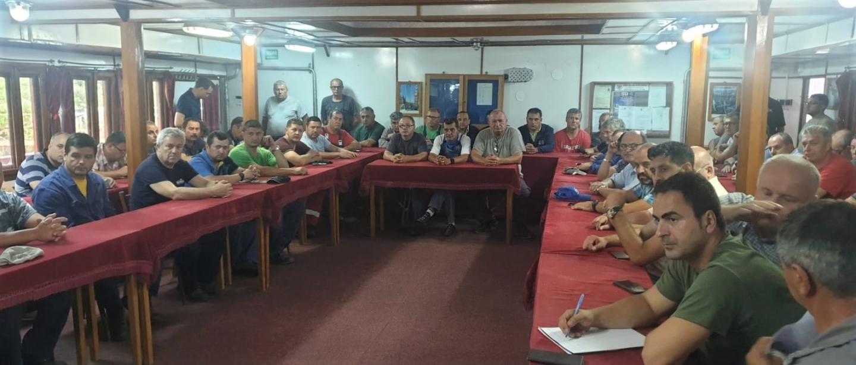 08.07.2019                                              COMUNICAT: Întâlnire informală cu membrii FSNPPC din cadrul BRN Brăila