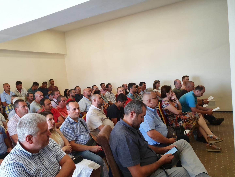 15.08.2019 - Alegeri pentru conducerea Biroului teritorial SNPPC din IPJ Ialomița