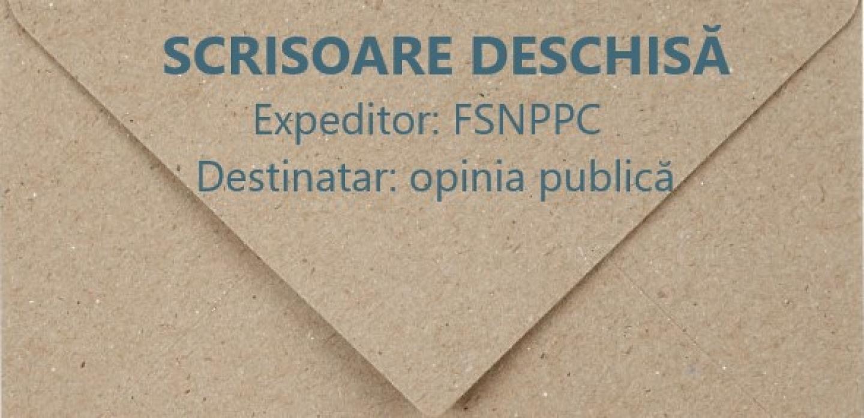 04.09.2019 -  FSNPPC s-a retras din CNMR în 2017  și își prezervă neutralitatea în raport cu președintele acestei organizații