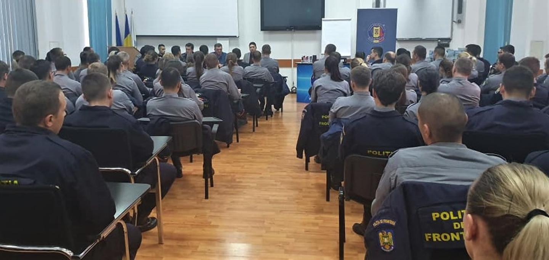 07.11.2019 - SNPPC, prezent la Școala de Agenți ai Poliției de Frontieră ,,Avram Iancu