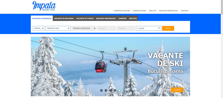 Servicii turistice de calitate, sigure și rentabile, prin IMPALA GRAND TOUR! Noul site al Agenției oferă informații complete despre destinațiile turistice selectate pentru membrii SNPPC și alte categorii de beneficiari interesați