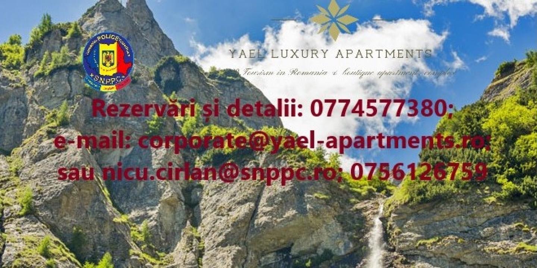 Parteneriat în folosul membrilor SNPPC&familiilor, cu un Complex turistic din Bușteni - 15% discount