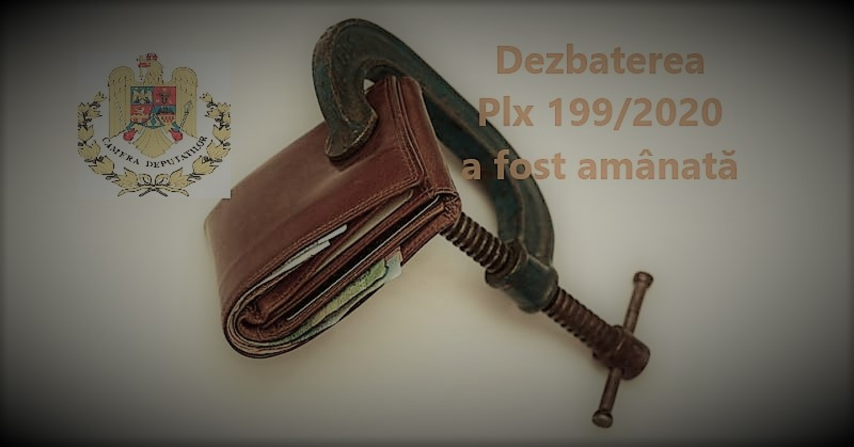 29.07.2020 - COMUNICAT:    Dezbaterea proiectului legislativ vizând  modificarea Legii pensiilor militare de stat  a fost amânată pentru săptămâna viitoare
