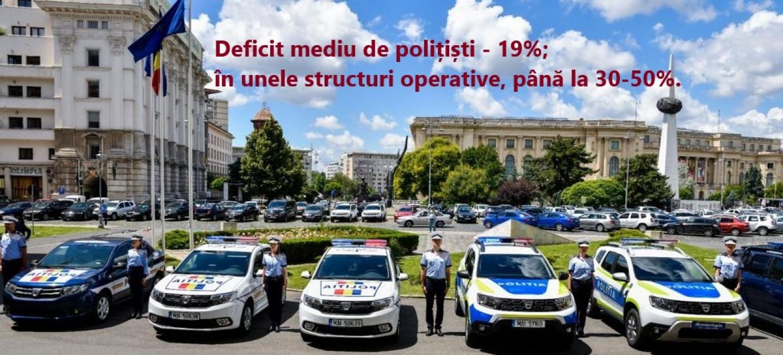 04.11.2020 - Propuneri concrete pentru diminuarea deficitului major de poliÈ›iÈ™ti, trimise azi la MAI