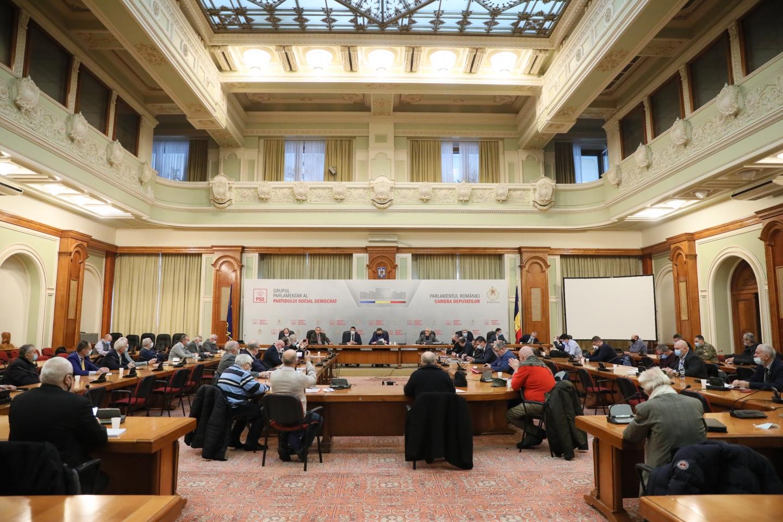 12.01.2021    -  COMUNICAT:  Discuții la Parlament, în cadrul Comisiei pentru Apărare din Camera Deputaților