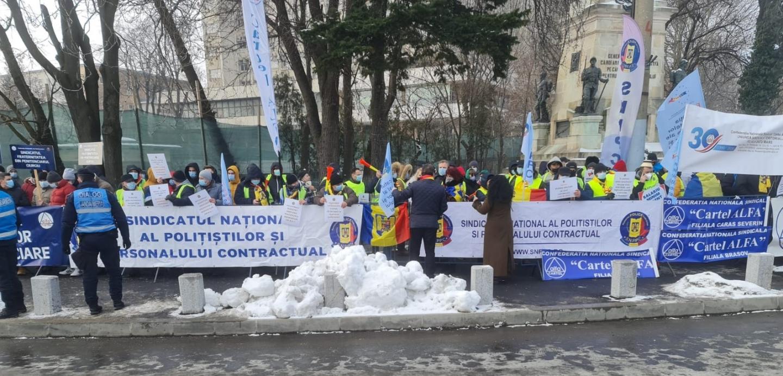 Caravana protestelor continuă! La ora 10,00, a început pichetarea Administrației Prezidențiale