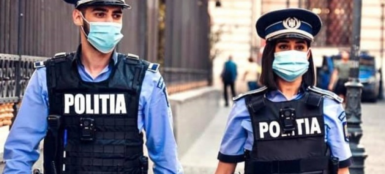 18.05.2021        -                  SEMNAL DE ALARMĂ!  Procentul infectării polițiștilor în pandemie,  cu peste 300% mai mare față de rata înregistrată la nivel național