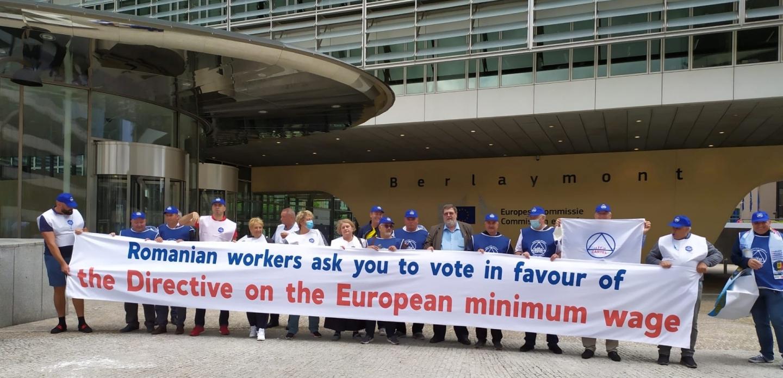 12.07.2021 -    COMUNICAT:  Caravana Dreptății Sociale - un ultim protest, la Parlamentul European