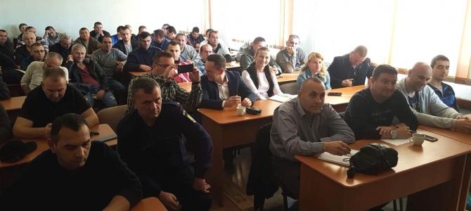 12.11.2018 -  S-a constituit un nou Birou Teritorial SNPPC la PF Călăraşi