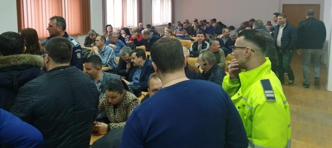 15.02.2019 - Alegeri pentru conducerea  Biroului Teritorial SNPPC din cadrul IPJ Giurgiu