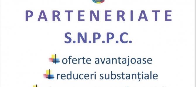 19.02.2019 - Parteneriat SNPPC - Editura CH BECK,  pentru lucrări cu profil juridic, economic, criminalistic etc.