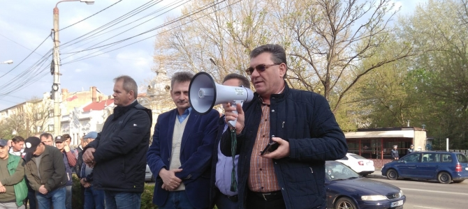 11.04.2019 - SOLIDARITATE și UNITATE SINDICALĂ: alături de angajații Electrolux Satu-Mare