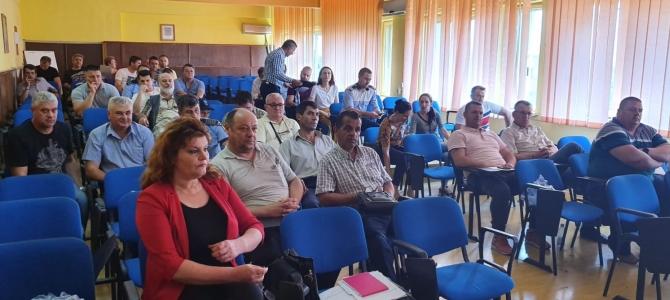 14.06.2019 - Alegeri pentru conducerea Biroului teritorial SNPPC din IPJ Teleorman