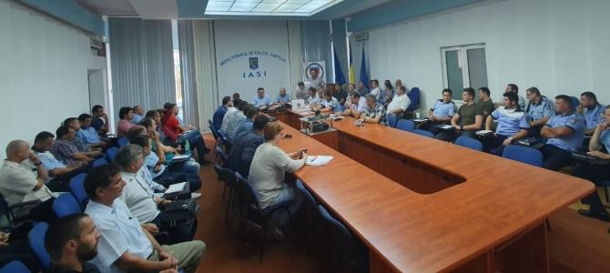 12.07.2019 - Alegeri pentru conducerea Biroului teritorial SNPPC din IPJ Iași