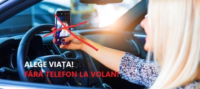 14.10.2019 - ATENȚIE: ȘOFERUL CONDUCE! NU FOLOSEȘTE TELEFONUL, NU TRANSMITE LIVE, NU SCRIE MESAJE!