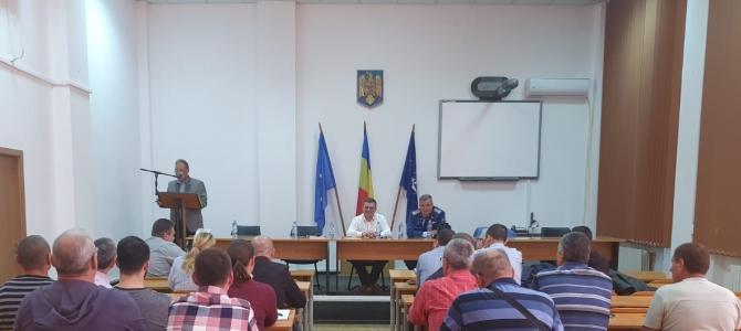 18.10.2019  -    În dialog cu membrii SNPPC, la Giurgiu