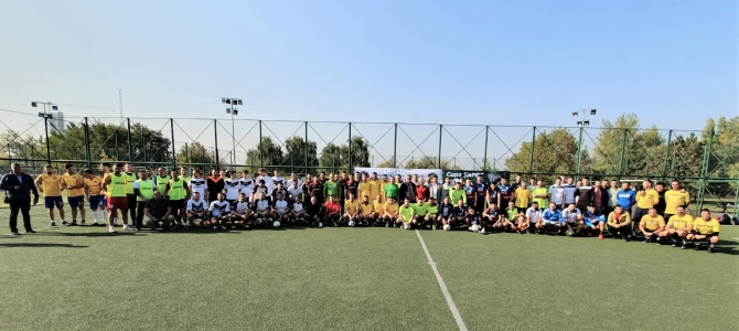 """18.10.2019    -  Turneul tradițional de fotbal, în Capitală: ,,Cupa SNPPC București"""""""
