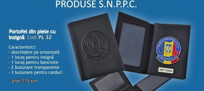 Oferta portofele si insigne tip SNPPC