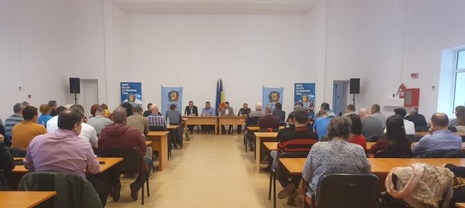 17.01.2020 - Adunare generală pentru alegeri la Biroul Teritorial SNPPC  din structurile Poliției de Frontieră Timiș