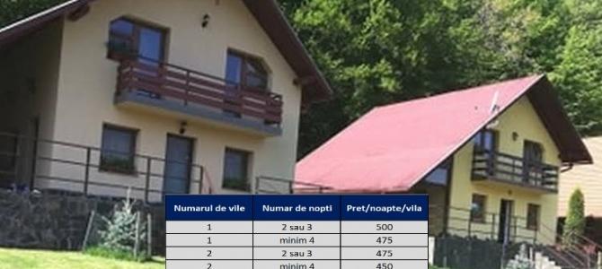 Vilele Roșia Maramureș - o destinație turistică pentru sezonul estival