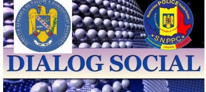 25.08.2020  -  Dialog social constructiv, la DGPMB