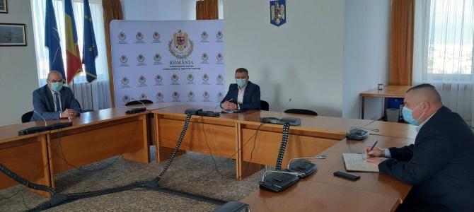 28.12.2020    -  COMUNICAT:  Întâlnire la Comisia de Apărare din Camera Deputaților, pe probleme de interes