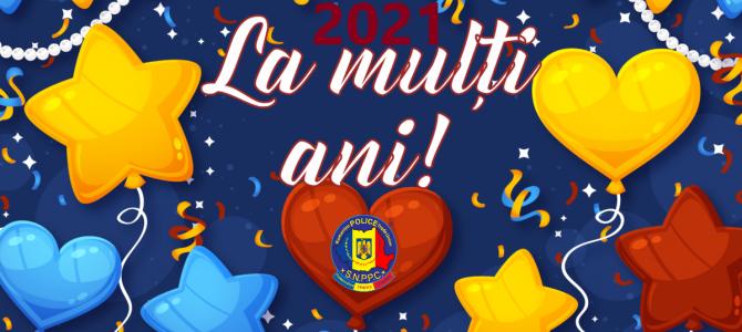 31 Decembrie 2020 - SĂRBĂTORI FERICITE ŞI AN NOU LUMINAT ÎN 2021!
