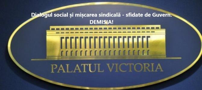 30.03.2021     -     COMUNICAT:  Guvernul și MAI nu au soluții la revendicările FSNPPC.  Considerăm că DEMISIA GUVERNULUI este un act firesc