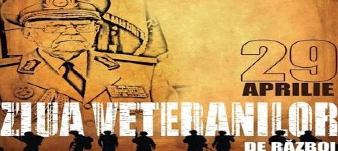 Respect deplin, Veteranilor de Război!