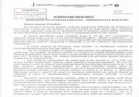 SCRISOARE DESCHISĂ din 09.06.2017 -   Domnului KLAUS WERNER IOHANNIS – PREŞEDINTELE ROMÂNIEI