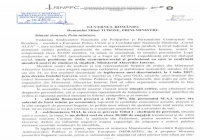 COMUNICAT din 21.09.2017 -                                            O iniţiativă FSNPPC, concretizată ieri:  Legea pentru aprobarea OUG 56/2017