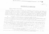 COMUNICAT (2) din 21.09.2017 -                                          FSNPPC a depus propuneri de modificare a Statutului poliţistului, la sediul MAI