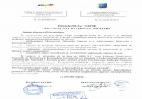 INFORMARE din 28.09.2017: Scrisoare comună FSNPPC-FSANP adresată prim-ministrului Mihai TUDOSE