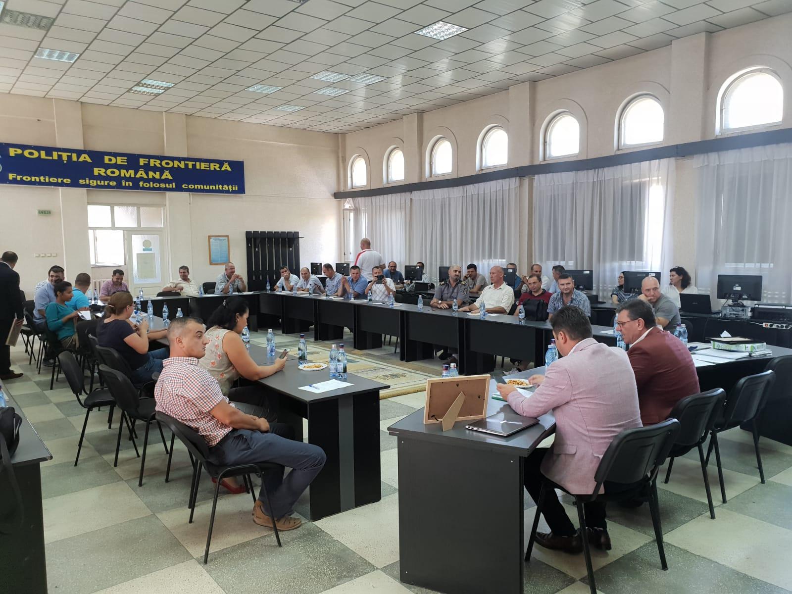 10.08.2018 - Alegeri la Biroul Teritorial SNPPC din cadrul Gărzii de Coastă Tulcea