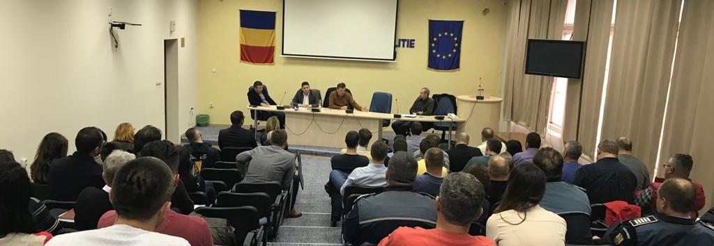 23.11.2018 - Discuţii cu membrii SNPPC, la Cluj-Napoca