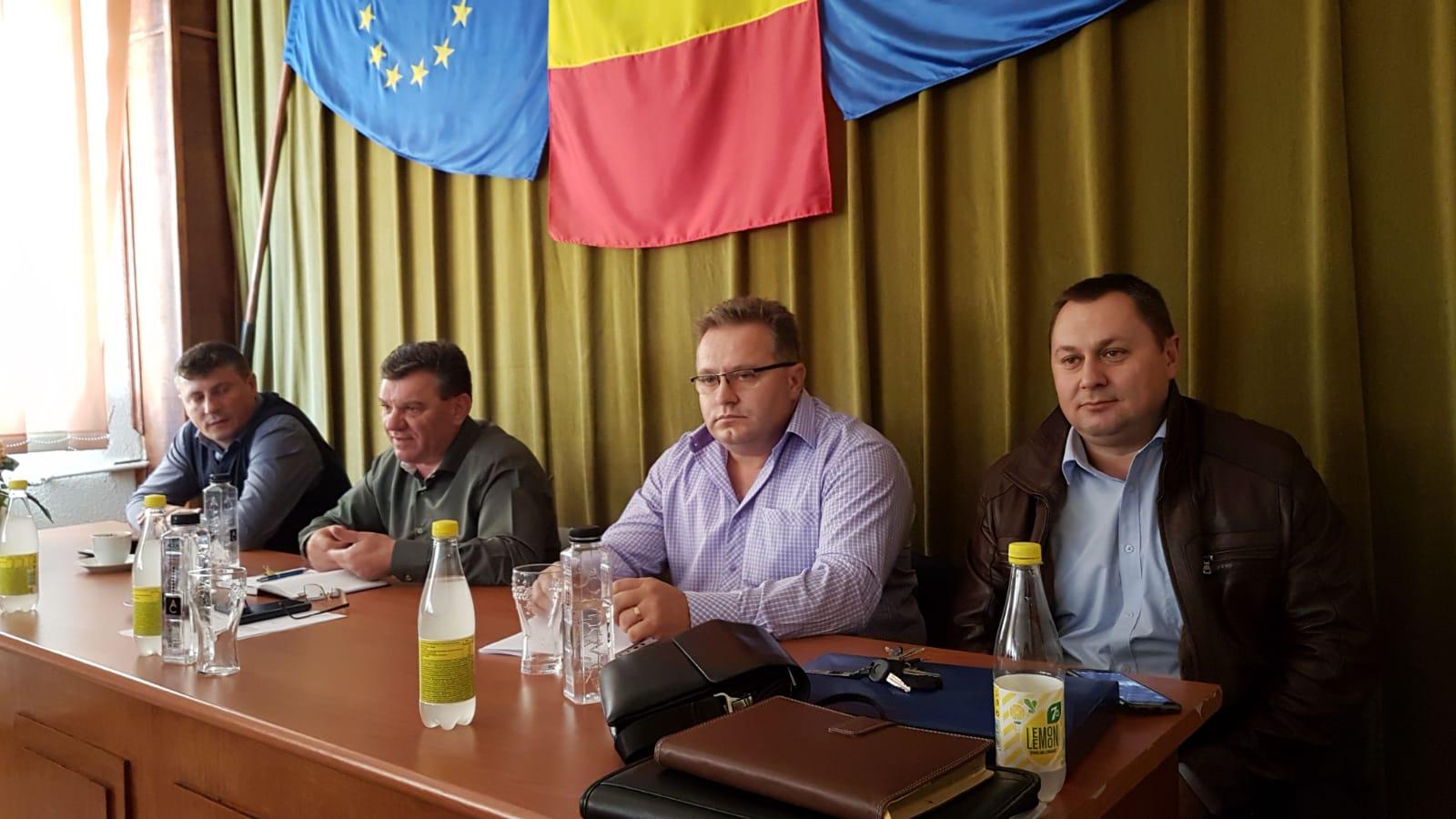 12.11.2018 -  S-a constituit un nou Birou Teritorial SNPPC la PF Cトネトビaナ殃