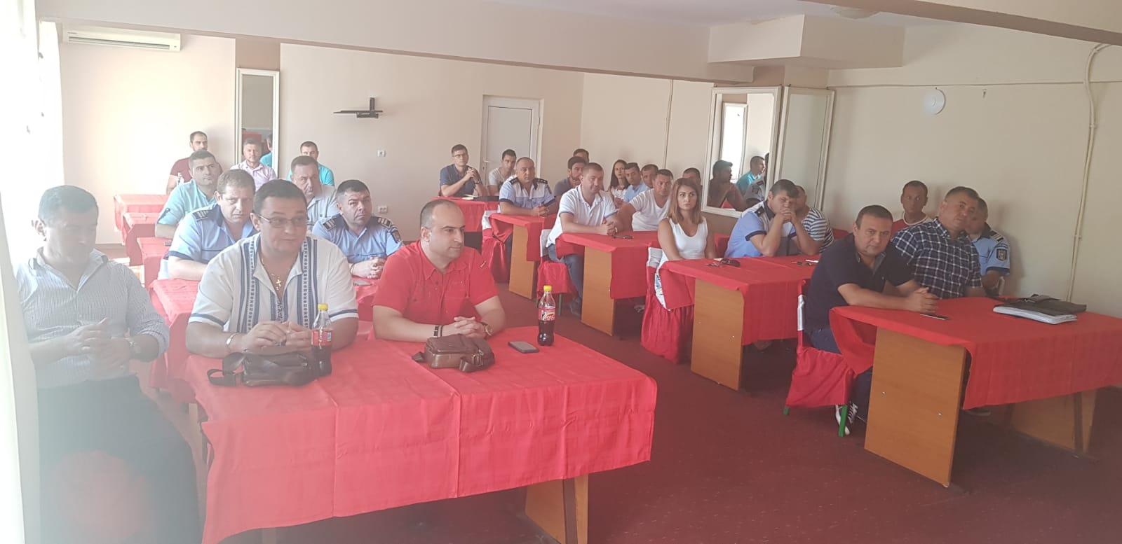 20.08.2018 - Alegeri la Biroul Teritorial SNPPC din IPJ Olt