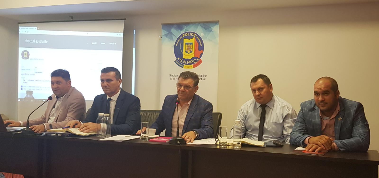 27.08.2018 - COMUNICAT: Consiliul general FSNPPC/SNPPC a dezbătut problemele personalului MAI