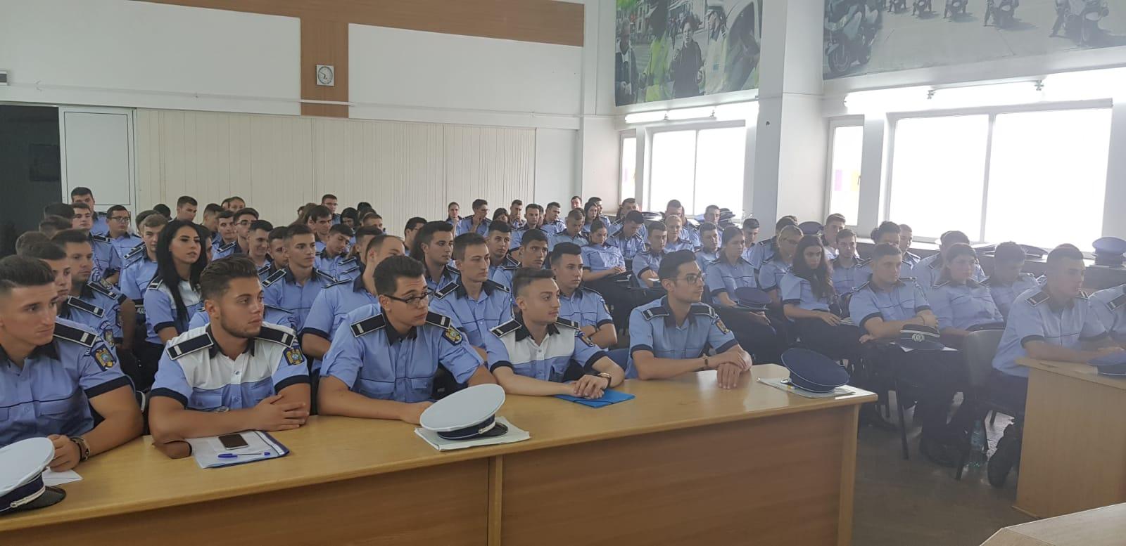31 iulie 2018 - Întâlnire cu agenţii repartizaţi la Brigada de Poliţie Rutieră Bucureşti