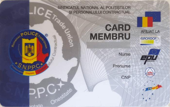 Card membru SNPPC